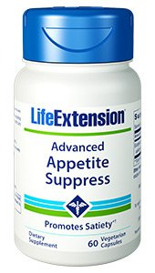 Advanced Appetite Suppress, 60 vegetarian capsules