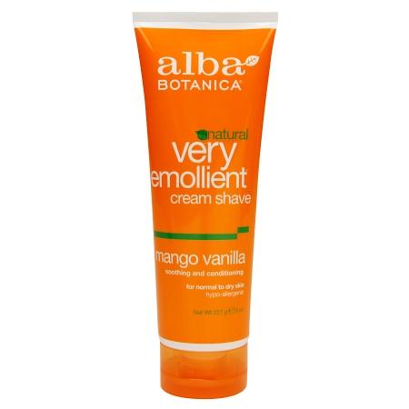 Alba Botanica Moisturizing Shave Cream Mango Vanilla - 8 fl oz