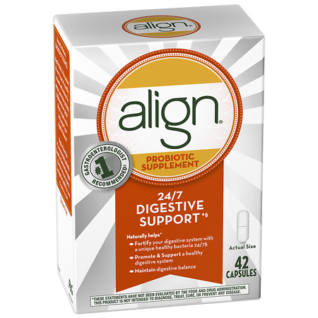 Align Digestive Care Probiotic Supplement Capsules - 42 ea