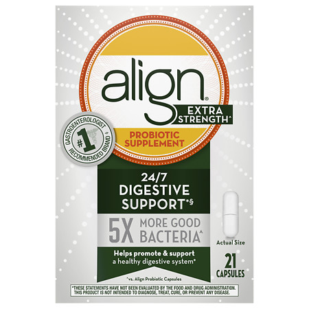 Align Extra Strength Probiotic Supplement Capules - 21 ea