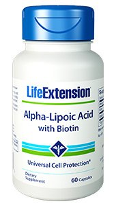 Alpha-Lipoic Acid, 250 mg, 60 capsules