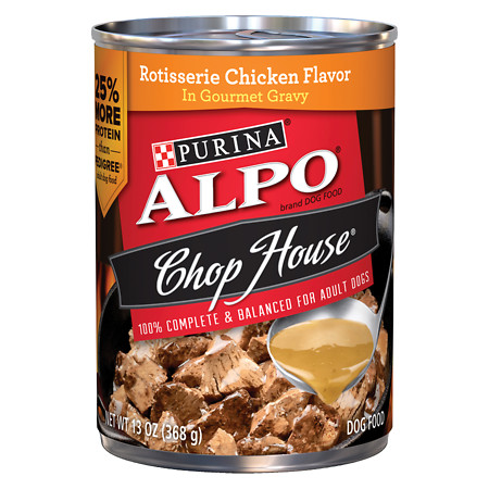 Alpo Chop House Dog Food Rotisserie Chicken - 13 oz.
