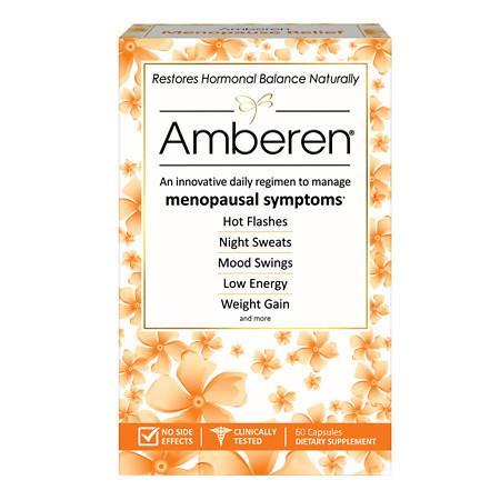 Amberen Menopause Relief - 60 ea