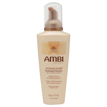Ambi Even & Clear Foaming Cleanser - 6 fl oz
