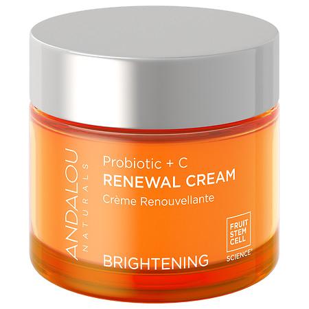 Andalou Naturals Probiotic + C Renewal Cream - 2 oz.
