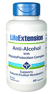 Anti-Alcohol with HepatoProtection Complex, 60 capsules