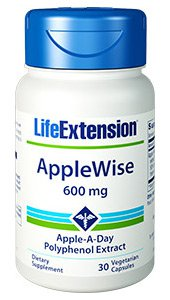 AppleWise, 600 mg, 30 vegetarian capsules