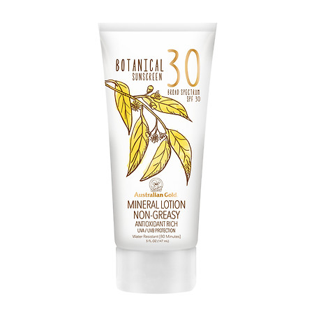 Australian Gold Mineral Lotion Botanical Sunscreen SPF 30 - 5 oz.