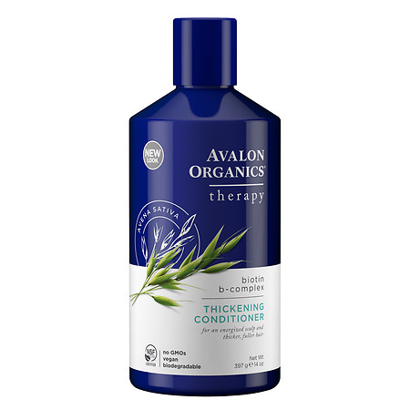 Avalon Organics Conditioner, Thickening, Biotin B-Complex - 14 fl oz