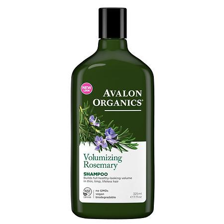 Avalon Organics Shampoo Volumizing Rosemary - 11 fl oz