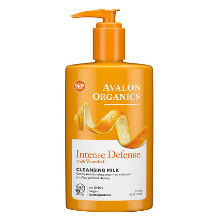 Avalon Organics Vitamin C Hydrating Cleansing Milk - 8.5 oz.