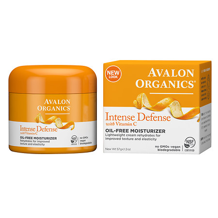 Avalon Organics Vitamin C Rejuvenating Oil-Free Moisturizer - 2 oz.