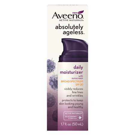 Aveeno Active Naturals Absolutely Ageless Daily Moisturizer Blackberry - 1.7 oz.