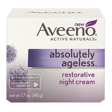 Aveeno Active Naturals Absolutely Ageless Restorative Night Cream Blackberry - 1.7 oz.