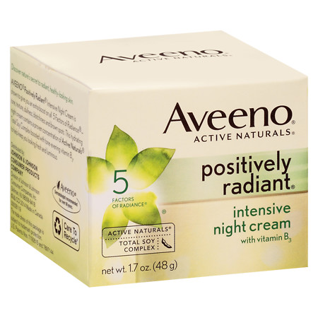 Aveeno Positively Radiant Intense Night Cream - 1.7 oz.