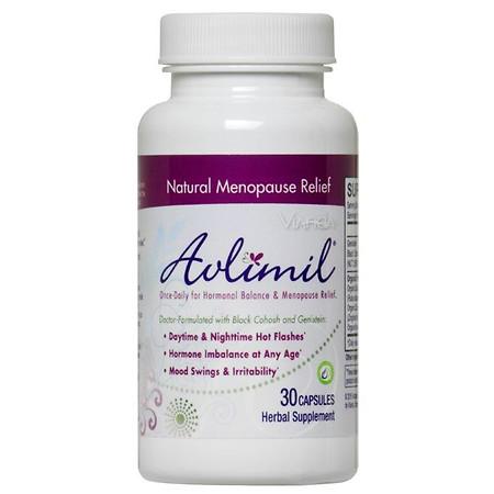 Avlimil Herbal Supplement Capsules - 30 ea
