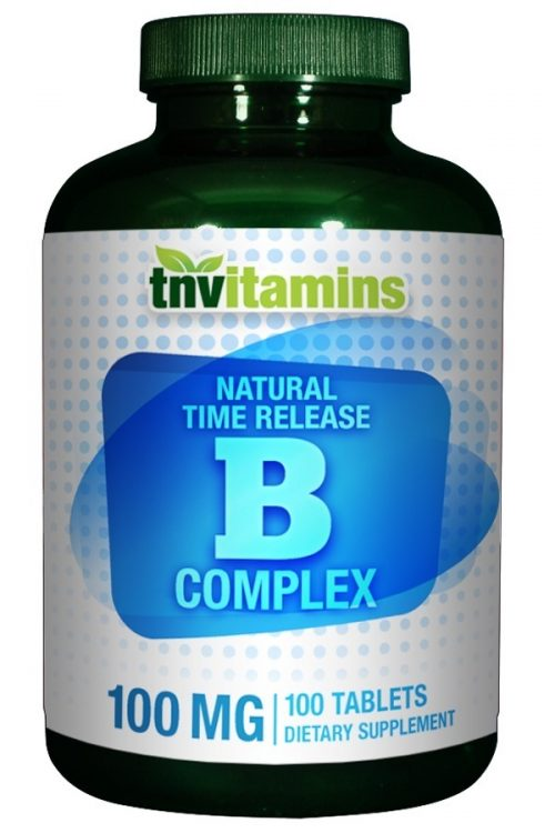 B Complex 100 Time Release