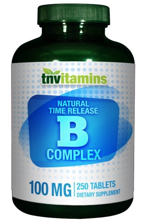 B Complex-100 Time Release