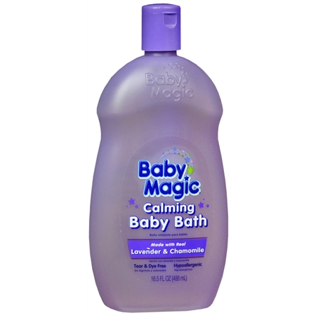 Baby Magic Calming Baby Bath Lavender & Chamomile - 16.5 oz.