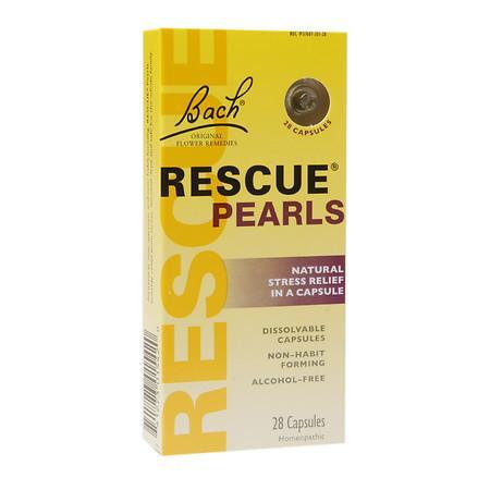 Bach Rescue Pearls Capsules - 28 ea