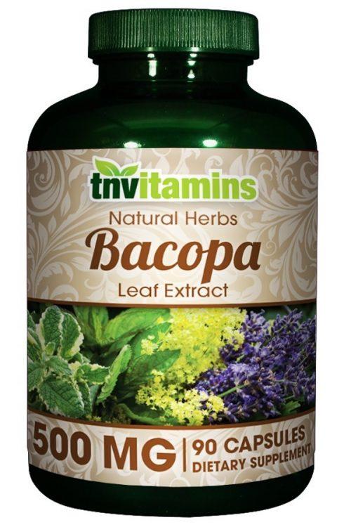 Bacopa Monnieri Leaf Extract 500 Mg
