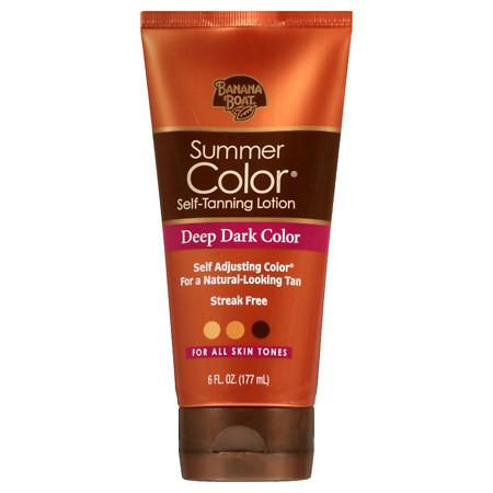 Banana Boat Sunless Summer Color Self Tanning Lotion, - 6 fl oz