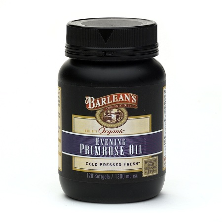 Barlean's Organic Oils Evening Primrose Oil, 1300mg Capsules - 120 ea
