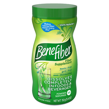 Benefiber Non-Thickening Powder, Sugar Free Unflavored, 38 dose - 5 oz.