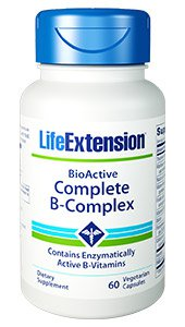 BioActive Complete B-Complex, 60 vegetarian capsules