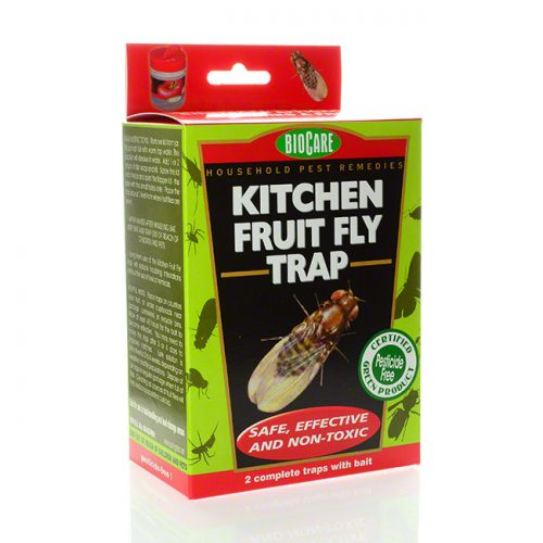 BioCare Kitchen Fruit Fly Traps, set of 2