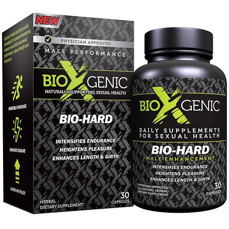BioXgenic Bio-Hard Male Performance, Capsules - 30 ea