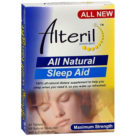 Biotab Nutraceuticals Alteril All Natural Sleep Aid - 30 ea