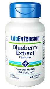 Blueberry Extract, 60 vegetarian capsules