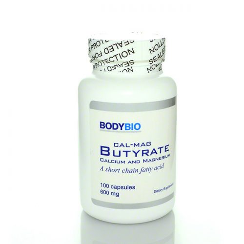 BodyBio Cal Mag Butyrate, 100 count