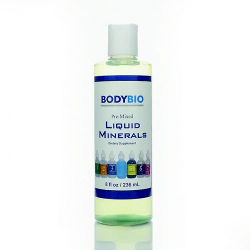 BodyBio Pre-mixed 1-7 Liquid Minerals, 8 fl oz