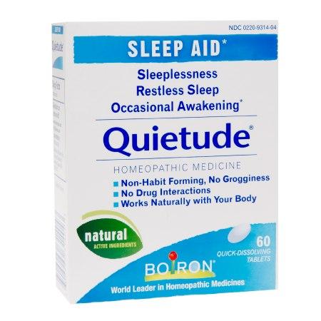 Boiron Quietude Quick Dissolving Tablets - 60 ea