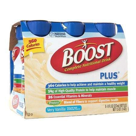 Boost Complete Nutritional Drink Vanilla Delight - 8 oz.