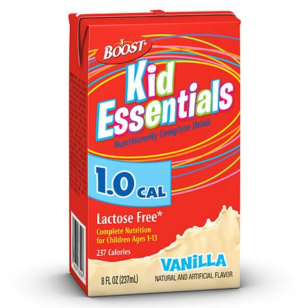 Boost Kid Essentials 1.0 Cal Medical Nutritional Drink Vanilla - 8 oz.