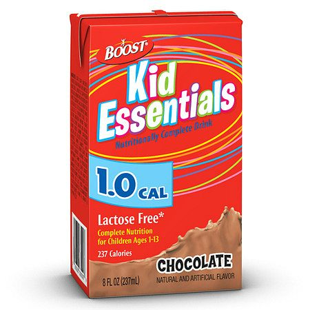 Boost Kid Essentials 1.0 Medical Nutritional Drink Chocolate - 8 oz.
