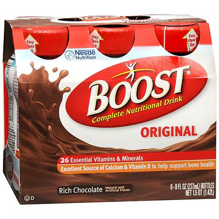 Boost Original, Complete Nutritional Drink Rich Chocolate - 8 oz.