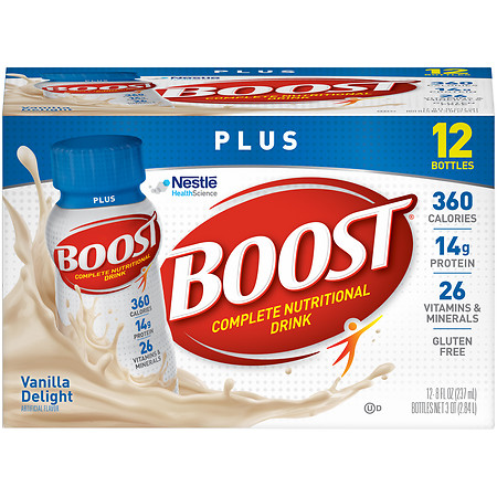 Boost Plus Complete Nutritional Drink - 8 oz.