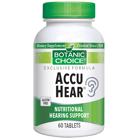 Botanic Choice Accu Hear Dietary Supplement Tablets - 60 ea.