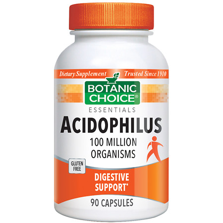 Botanic Choice Acidophilus Dietary Supplement Capsules - 90 ea.