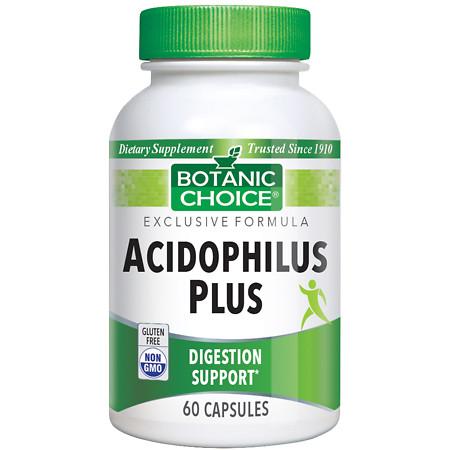 Botanic Choice Acidophilus Plus Dietary Supplement Capsules - 60 ea.