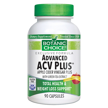 Botanic Choice Advanced ACV Plus Dietary Supplement Capsules - 90 ea
