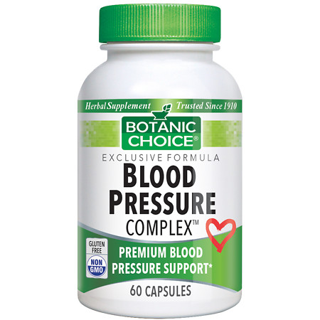 Botanic Choice Blood Pressure Complex Dietary Supplement Capsules - 60 ea.