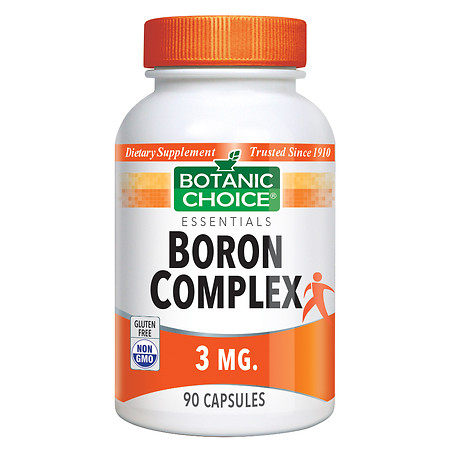Botanic Choice Boron Complex 3 mg Dietary Supplement Capsules - 90 ea