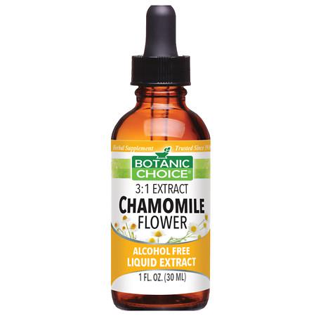 Botanic Choice Chamomile Flower Herbal Supplement Liquid - 1 oz.