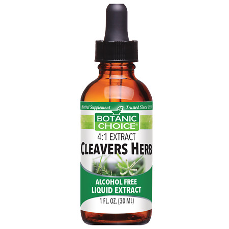 Botanic Choice Cleavers Herb Herbal Supplement Liquid - 1 oz.
