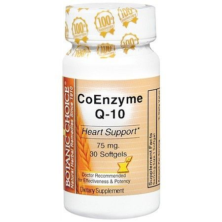 Botanic Choice CoEnzyme Q-10 75 mg Dietary Supplement - 30 ea.